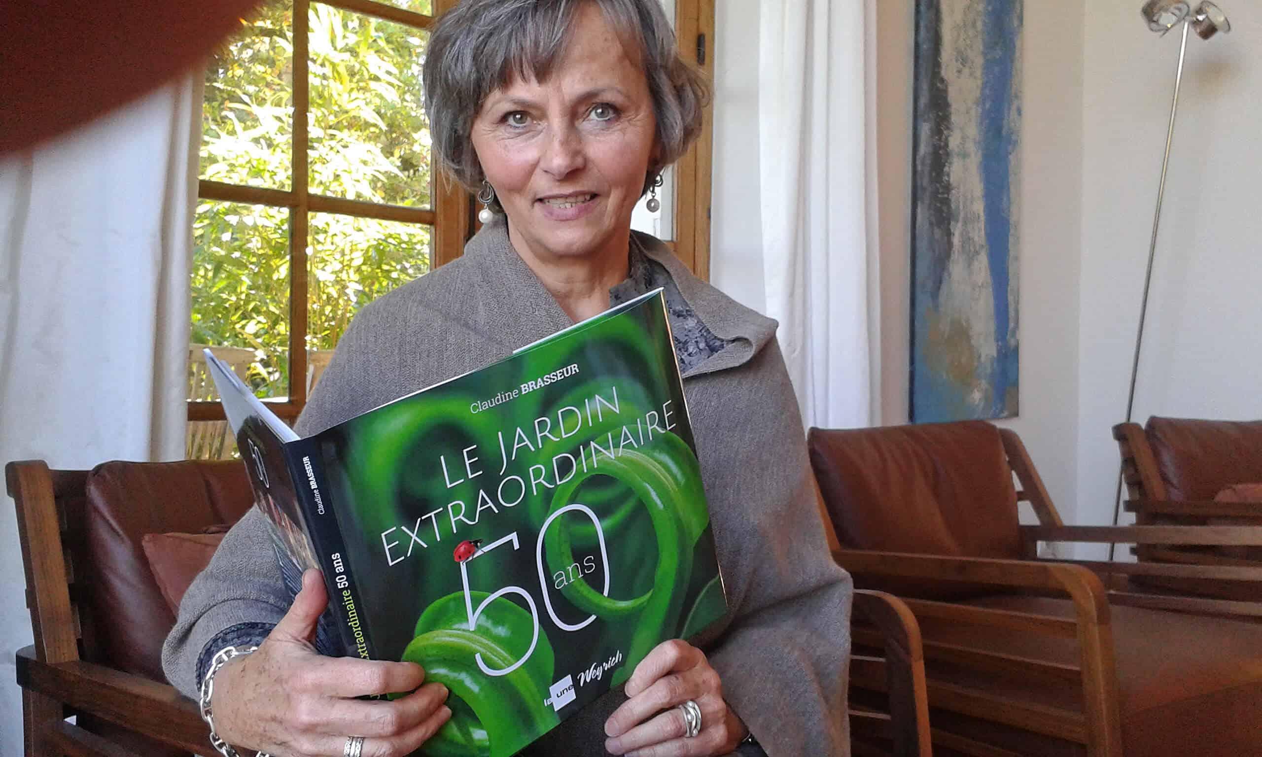 50 ans du Jardin Extraordinaire Claudine Brasseur