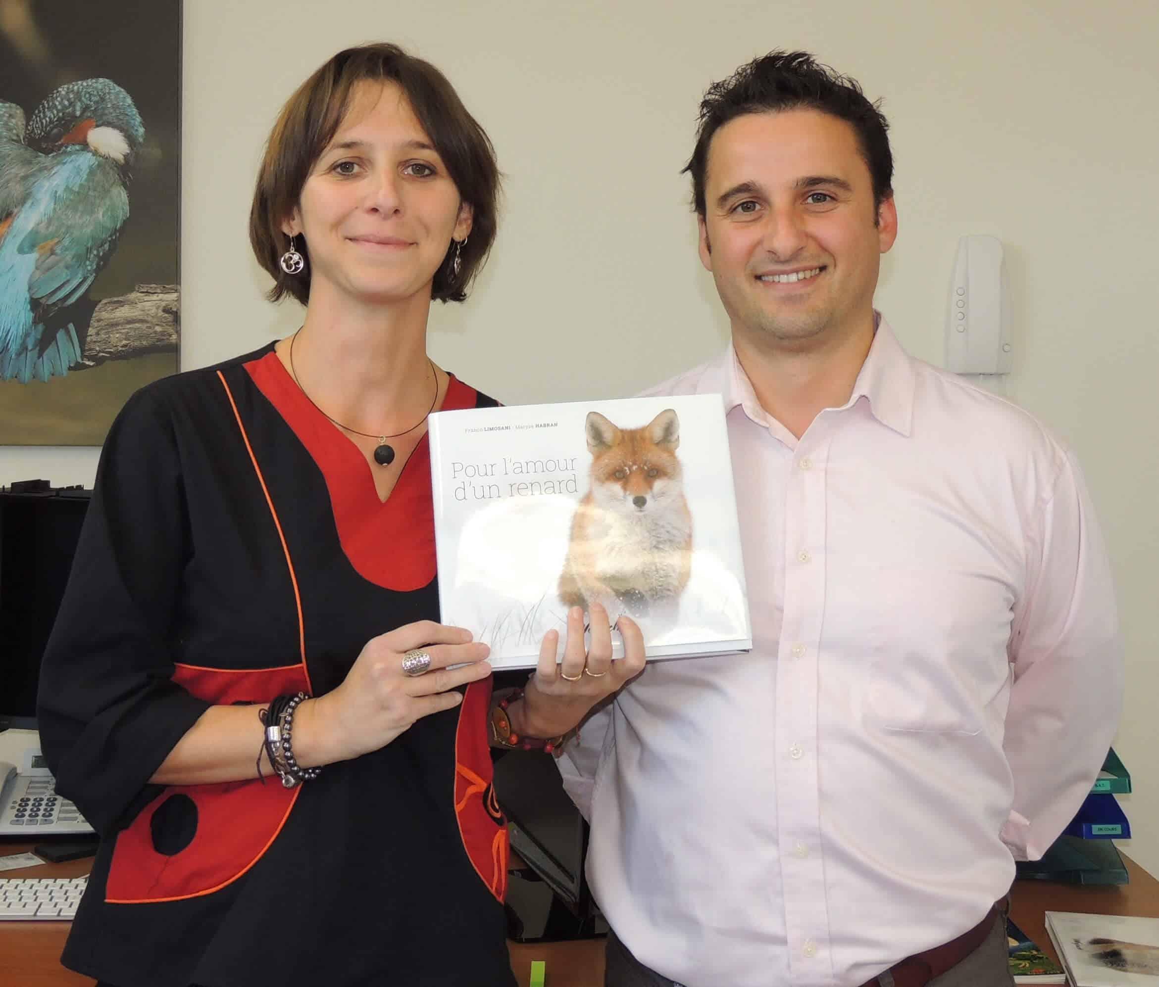 Pour l'amour d'un renard – Franco Limosani et Maryse Habran