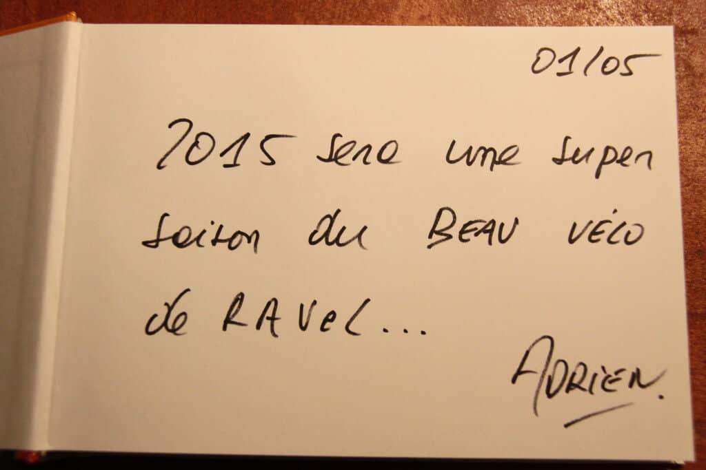 Adrien Joveneau dédicace