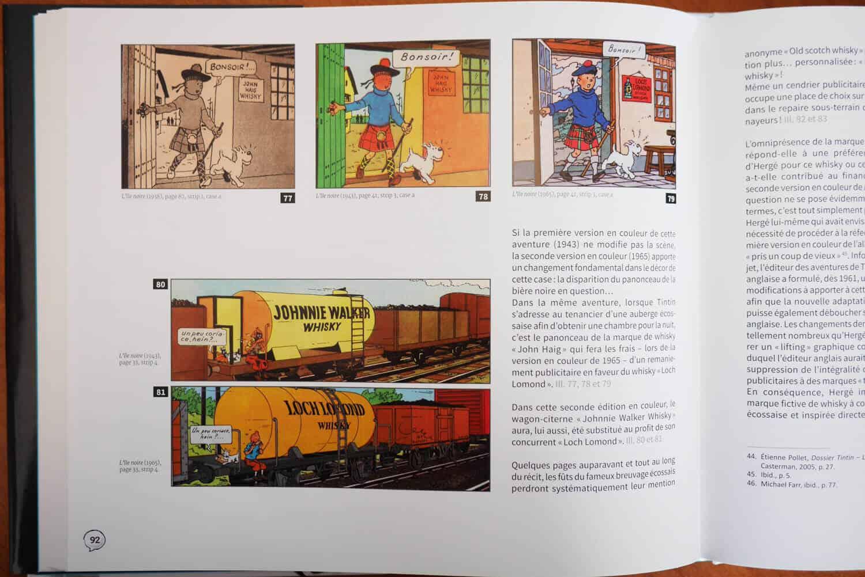 Publicité, Tintin, Hergé ? Mille millions de mille sabords !