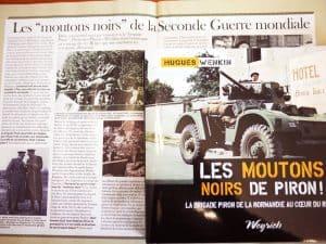 Soir Mag consacre 2 pages aux moutons noirs!