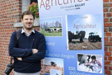 Je suis agriculteur Christophe Gillot (Photos) et Erik Sven (Textes)