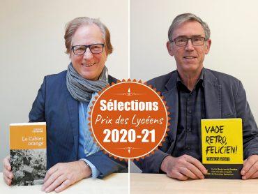 Nos 2 auteurs sélectionnés pour le prix des Lycéens se dévoilent