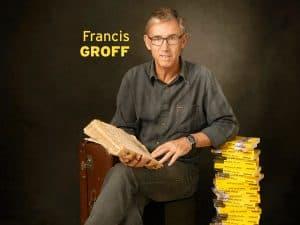 En quatre romans, Francis Groff a imposé Stanislas Barberian