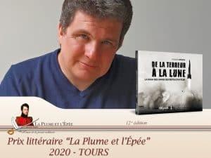 Le Prix «La Plume et L'Epée» pour Hugues Wenkin